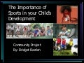 Importance of sports in children's development