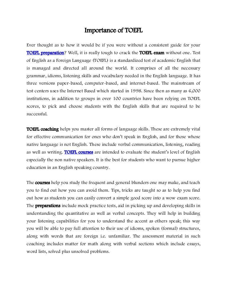Importance Of Speaking English Essay. Education Importance IndiaCelebrating  Com