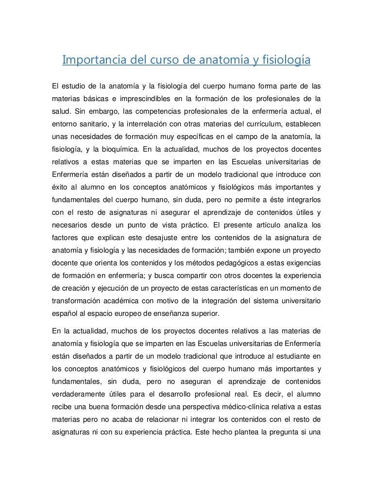 Lujo Anatomía Y Fisiología Práctica Modelo - Imágenes de Anatomía ...