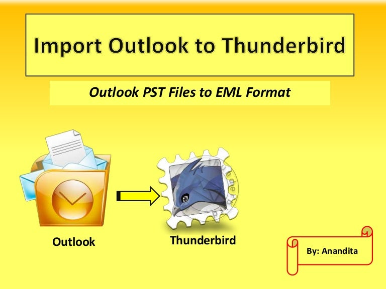 how to transfer windows live mail profile to thunderbird