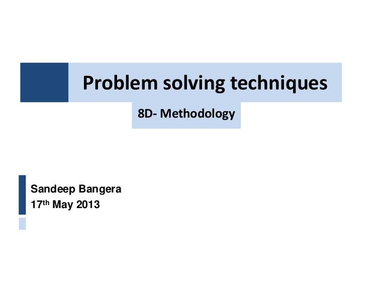 Documents Similar To Problem Solving Techniques case Study