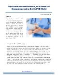 Improve Nursing Performance and Staff Engagement using the CLIPSE Model April 2014