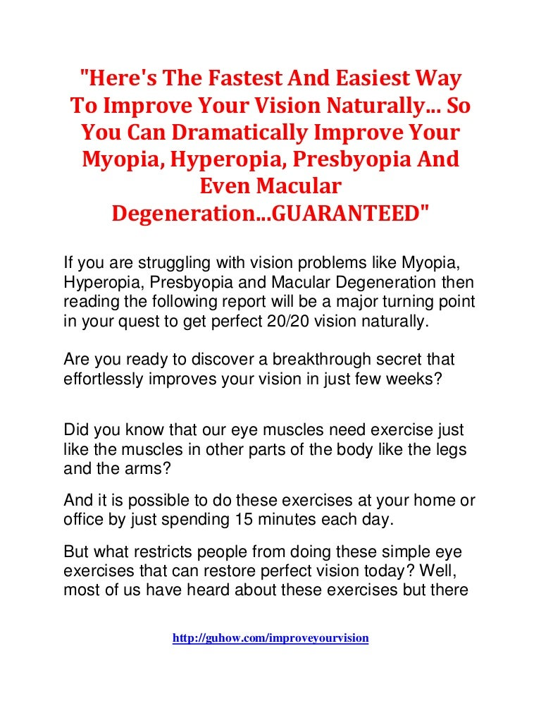 Improve Your Vision With Perfect Vision Today By Dr  Sen