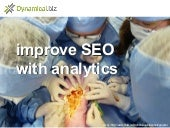 Improving SEO with analytics