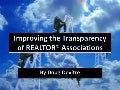 Improving The Transparency Of Realtor® Associations