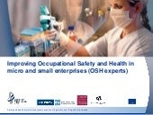 Improving Occupational Safety and Health in micro and small enterprises