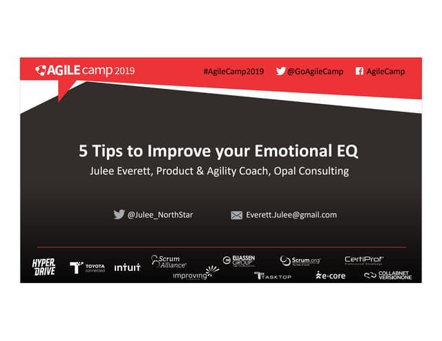 Improving your Emotional EQ
