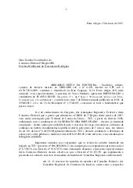 Impugnação CRECI 2015
