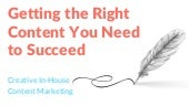Getting the Right Content You Need to Succeed in Digital Marketing