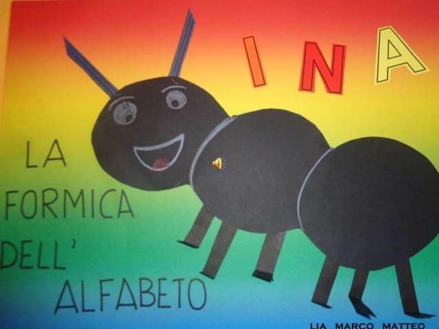 Ina, la formica dell'alfabeto