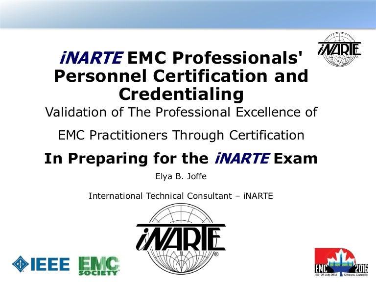 Inarte Presentation To Emc Symposium 2016