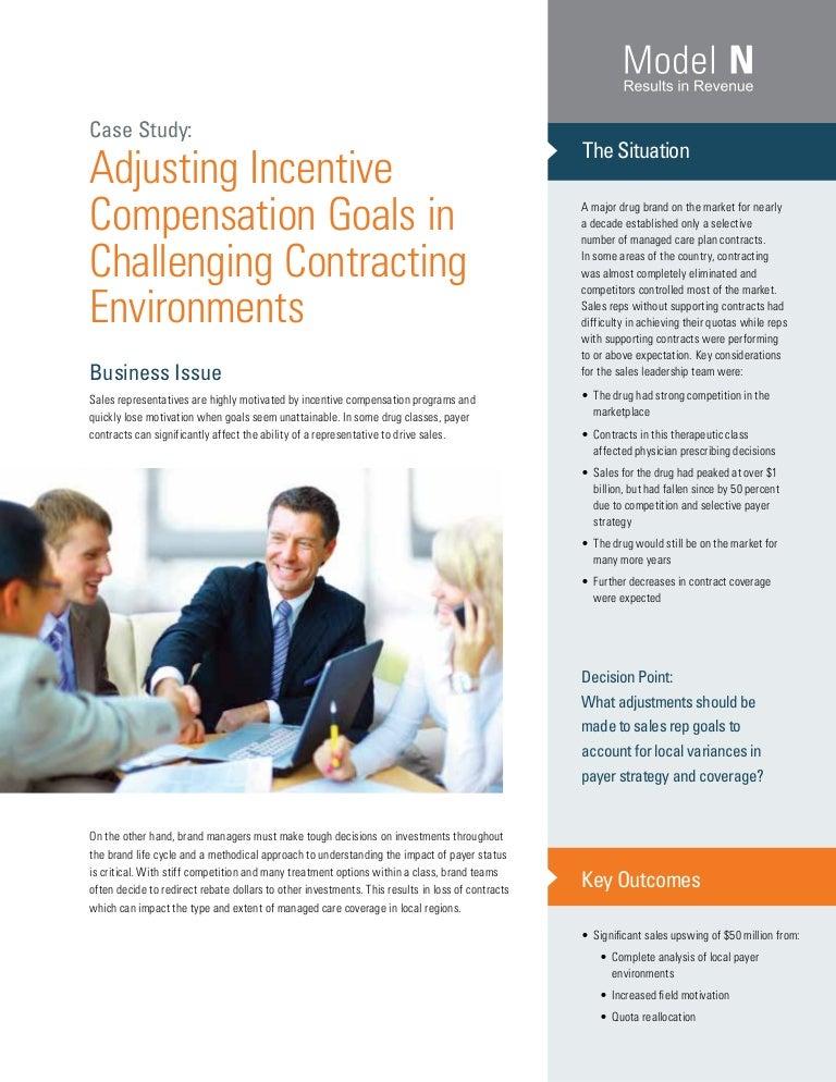 Case study: Bonus and incentive plans - Dental Economics
