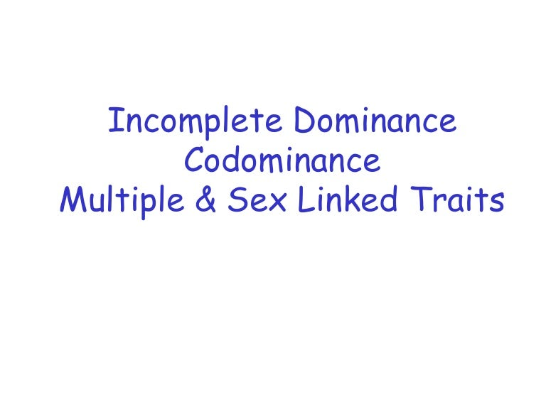 Incomplete codominance multiple alleles – Multiple Alleles Worksheet