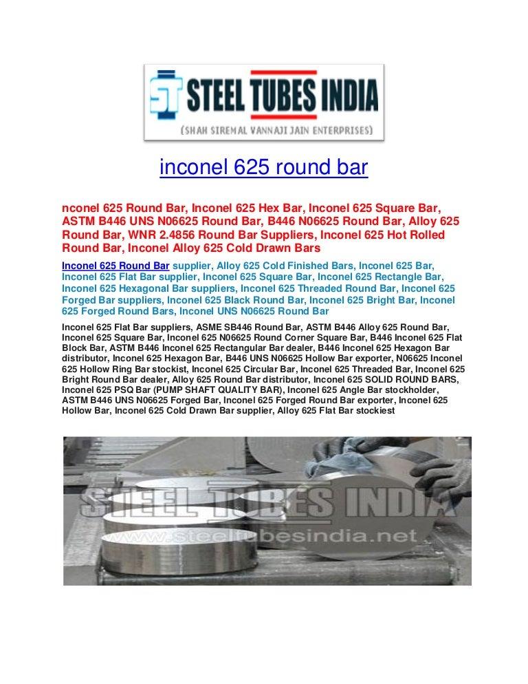 Inconel 625 round_bar