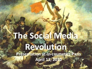 Richard Stacy's presentation at in-cosmetics Paris, 13/04/10