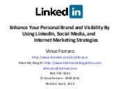 Increase Visibility and Personal Branding On LinkedIn