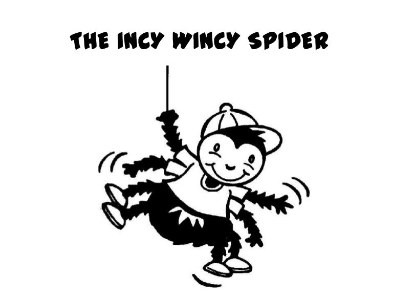 The Incy wincy spider story