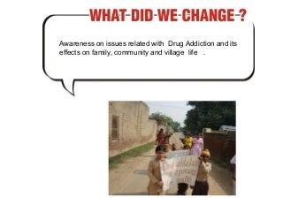 drug addiction effects on community