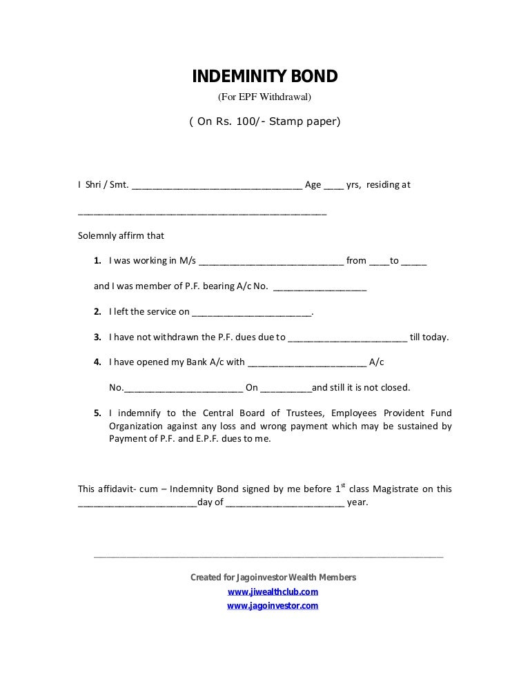 Doc495700 Deed of Release and Indemnity Deed of release and – Deed of Indemnity