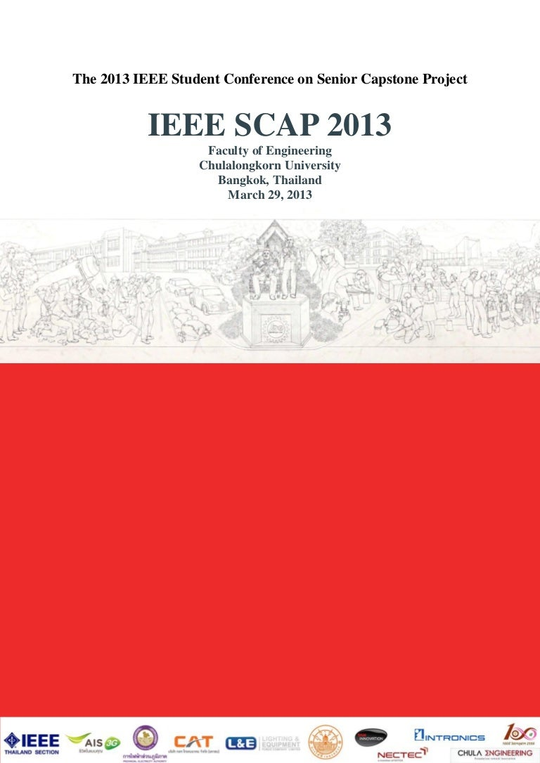 Abstract Proceedings of IEEE SCAP 2013