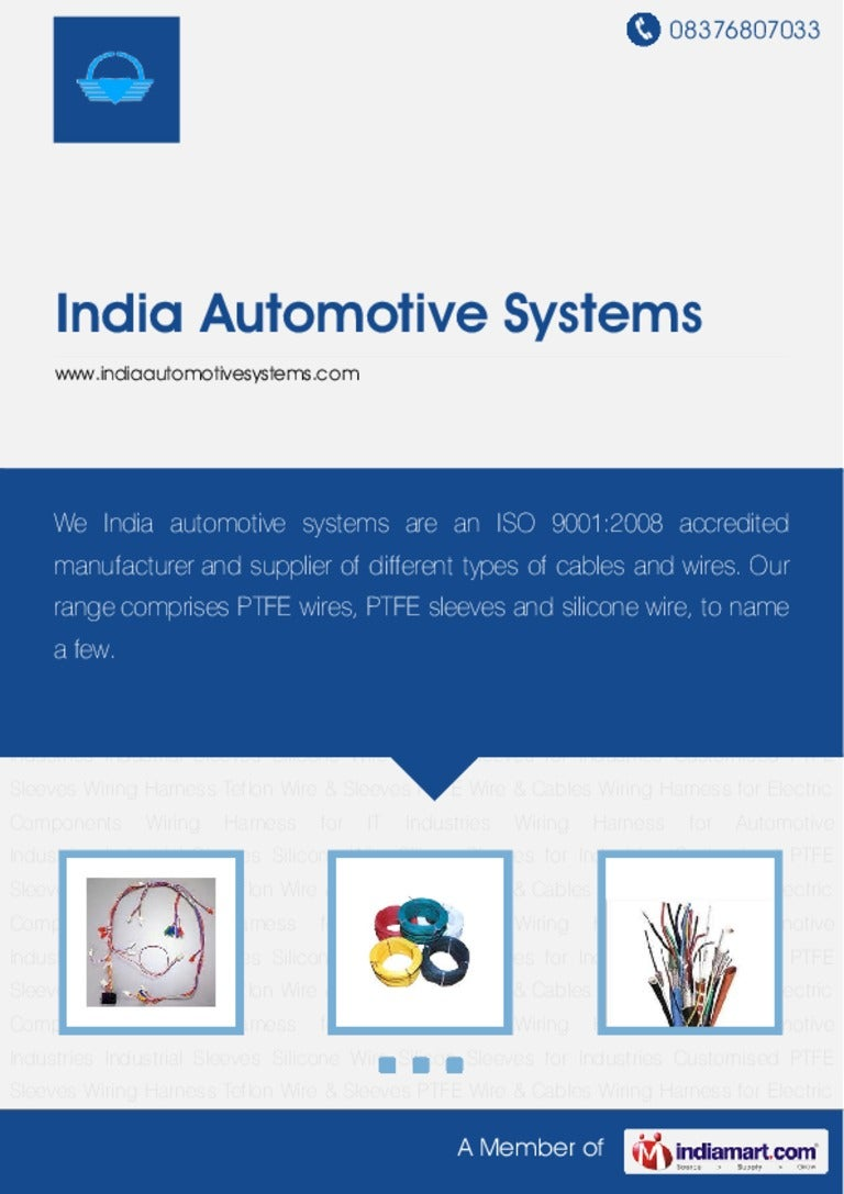 Wiring Harness Manufacturers India Wire Assembly By Automotive Systems