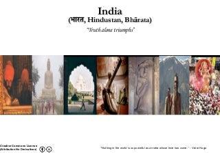 India - Truth Alone Triumphs