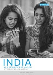 India as a mobile first Nation : Whitepaper by Zinnov