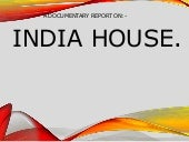 INDIA HOUSE, PUNE