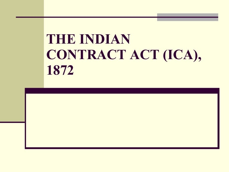 Contract Act Pdf