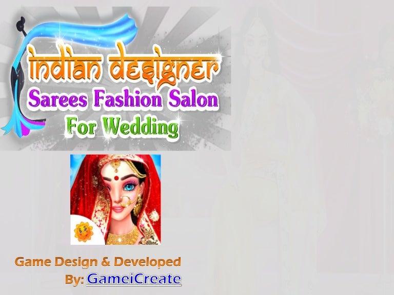 Indian Designer Sarees Fashion Salon For Wedding