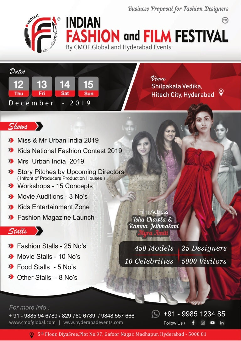 Indian Fashion And Film Festival