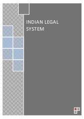 Indian Legal System