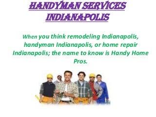 Handyman Indianapolis