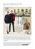 Indian Wedding Dresses for Men | Origins of the Jodhpur Bandhgala