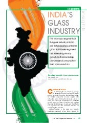 India's Glass Industry