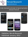 India smartphone market & operating system analysis forecast