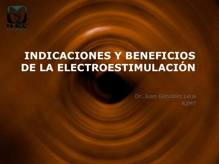 Electroterapia beneficios y contraindicaciones