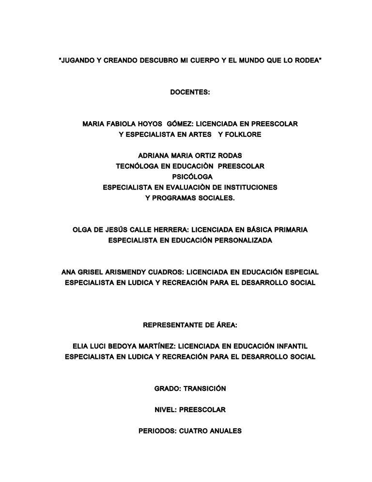 Primer Logros Grado De Indicadores Preescolar TJ31c5KulF