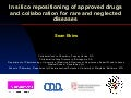 Indications discovery and drug repurposing