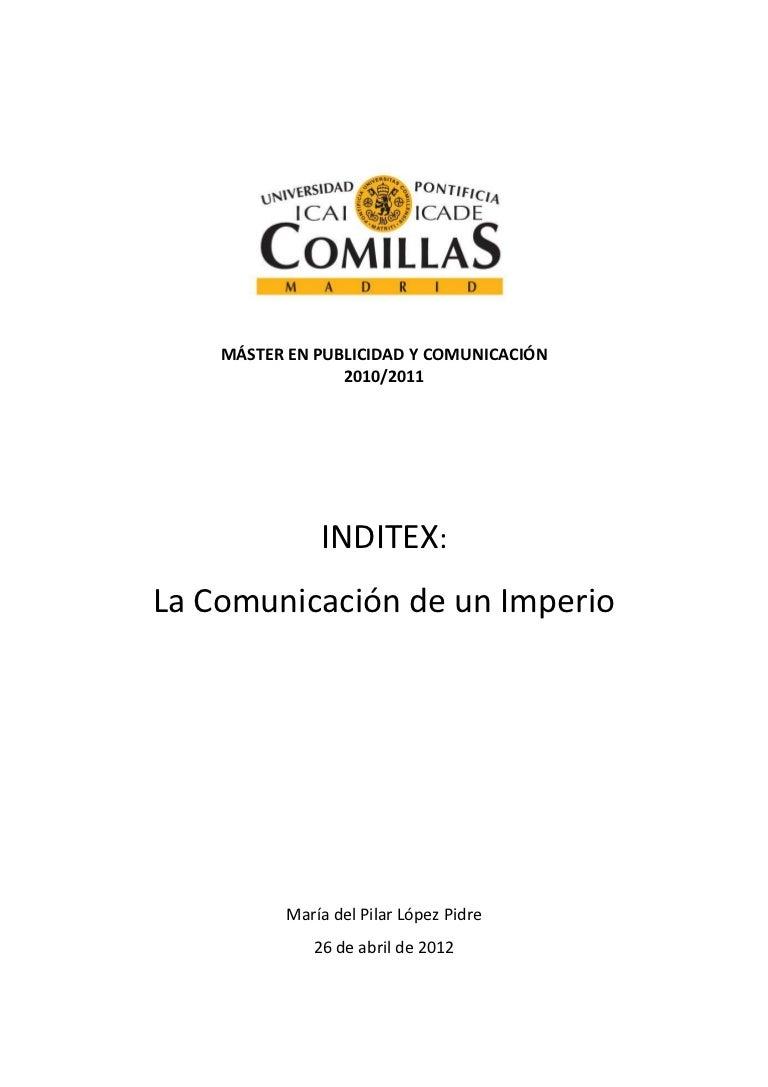 InditexLa Un InditexLa De Comunicación Imperio Comunicación zMUSVp