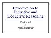 Inductive deductive revised