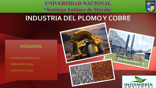 Industria del plomo y zinc