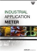 Industrial Application Meters by ACMAS Technologies Pvt Ltd.