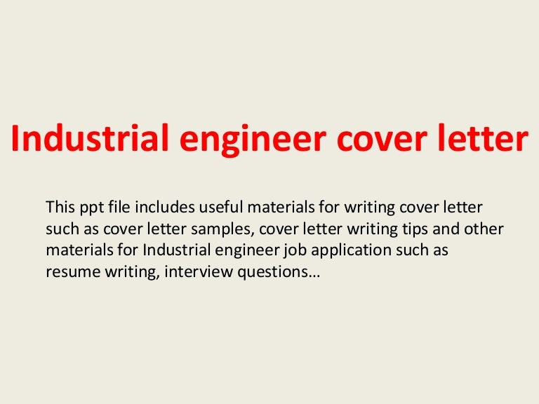 industrialengineercoverletter 140305233001 phpapp02 thumbnail 4jpgcb1394062222