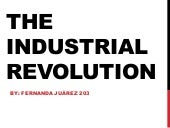 Intro to industrial revolution