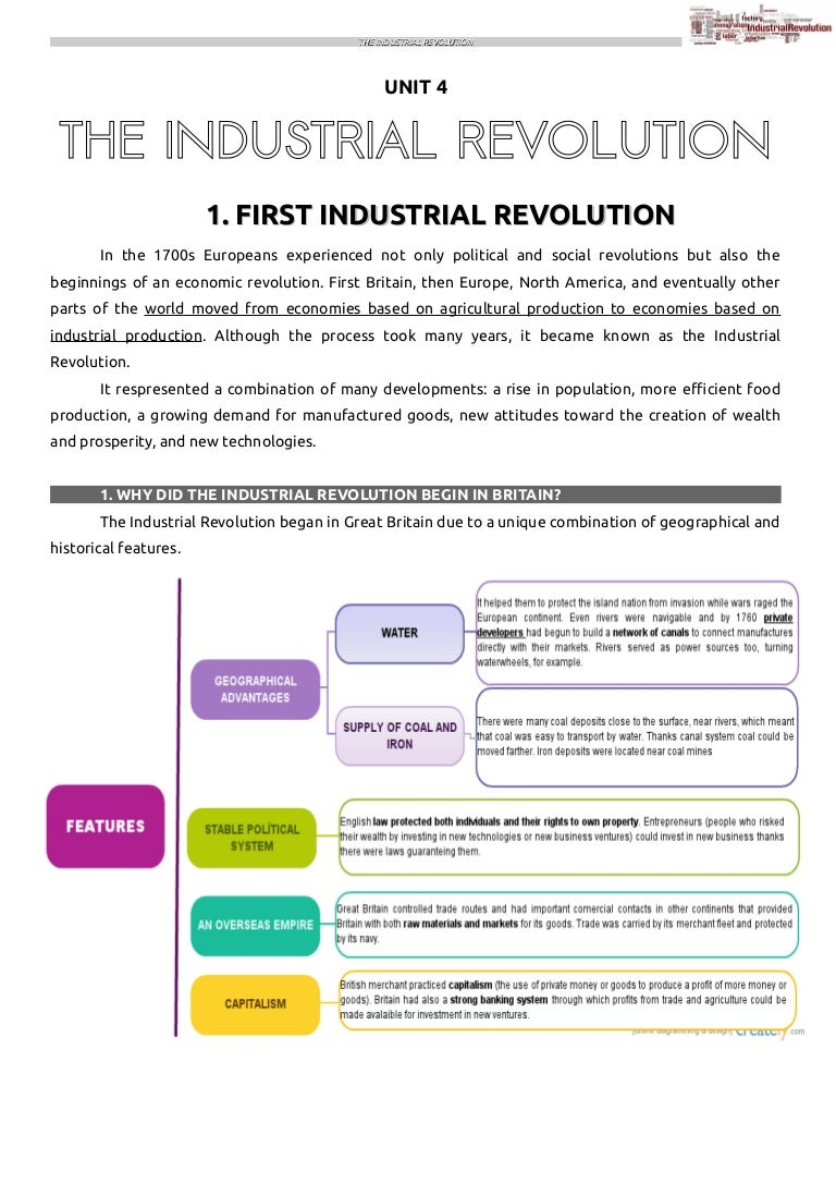 why did the industrial revolution began in great britain
