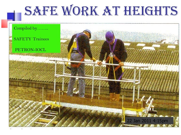 Industrial Safety Of Height Works
