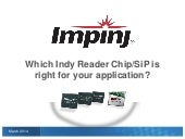 Selecting the Best RFID Reader Chip or SiP for Your Application