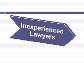Inexperienced lawyers   Irs Attorney