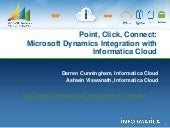 Microsoft Dynamics Integration with Informatica Cloud